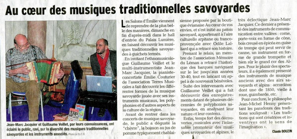 Le Dauphine Les Salons d'Emilie - mars 2017