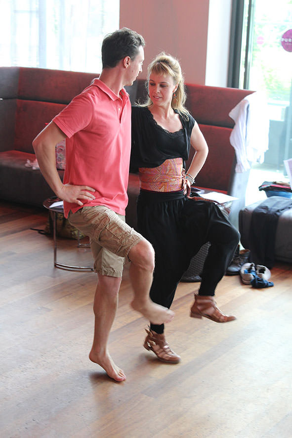 Johannes et Marieke Quintens, danseurs
