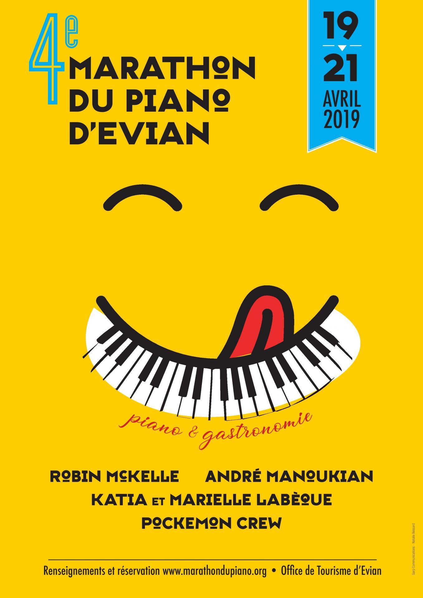 Marathon du piano d'Evian 2019