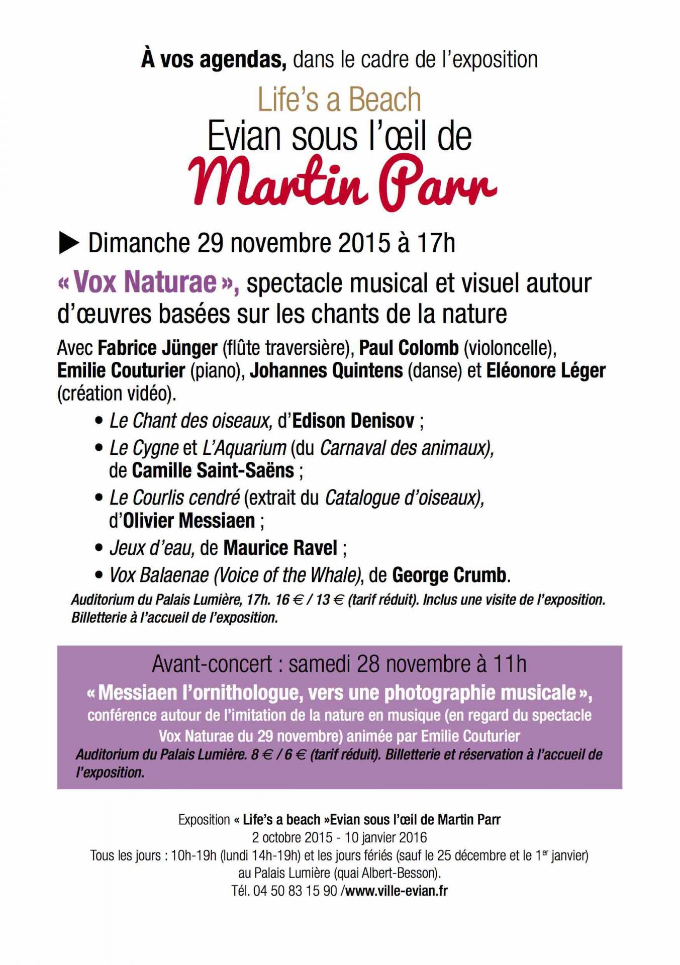 Flyer spectacle vox naturae 2