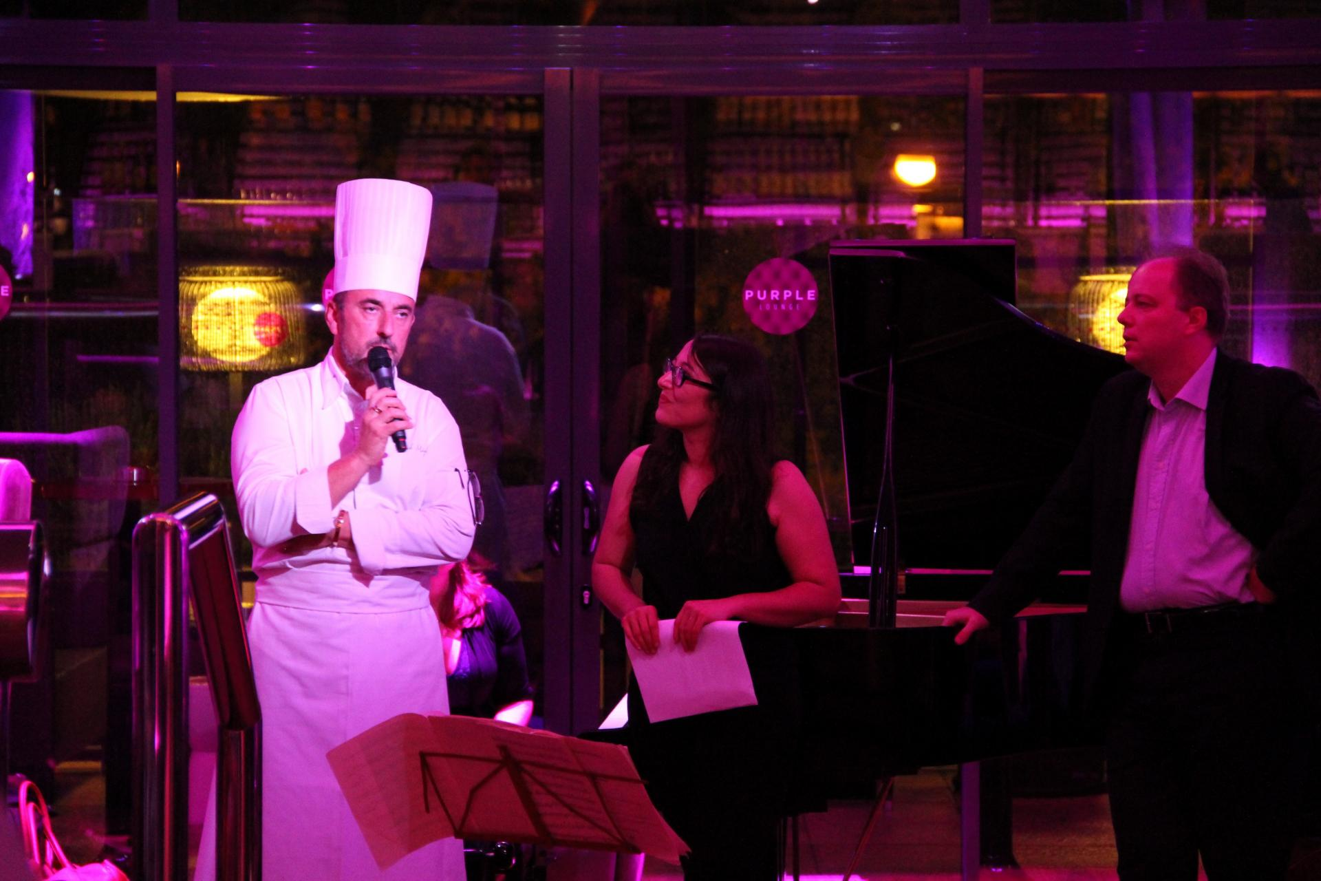 Franck Miglierini, chef des cuisines du Casino
