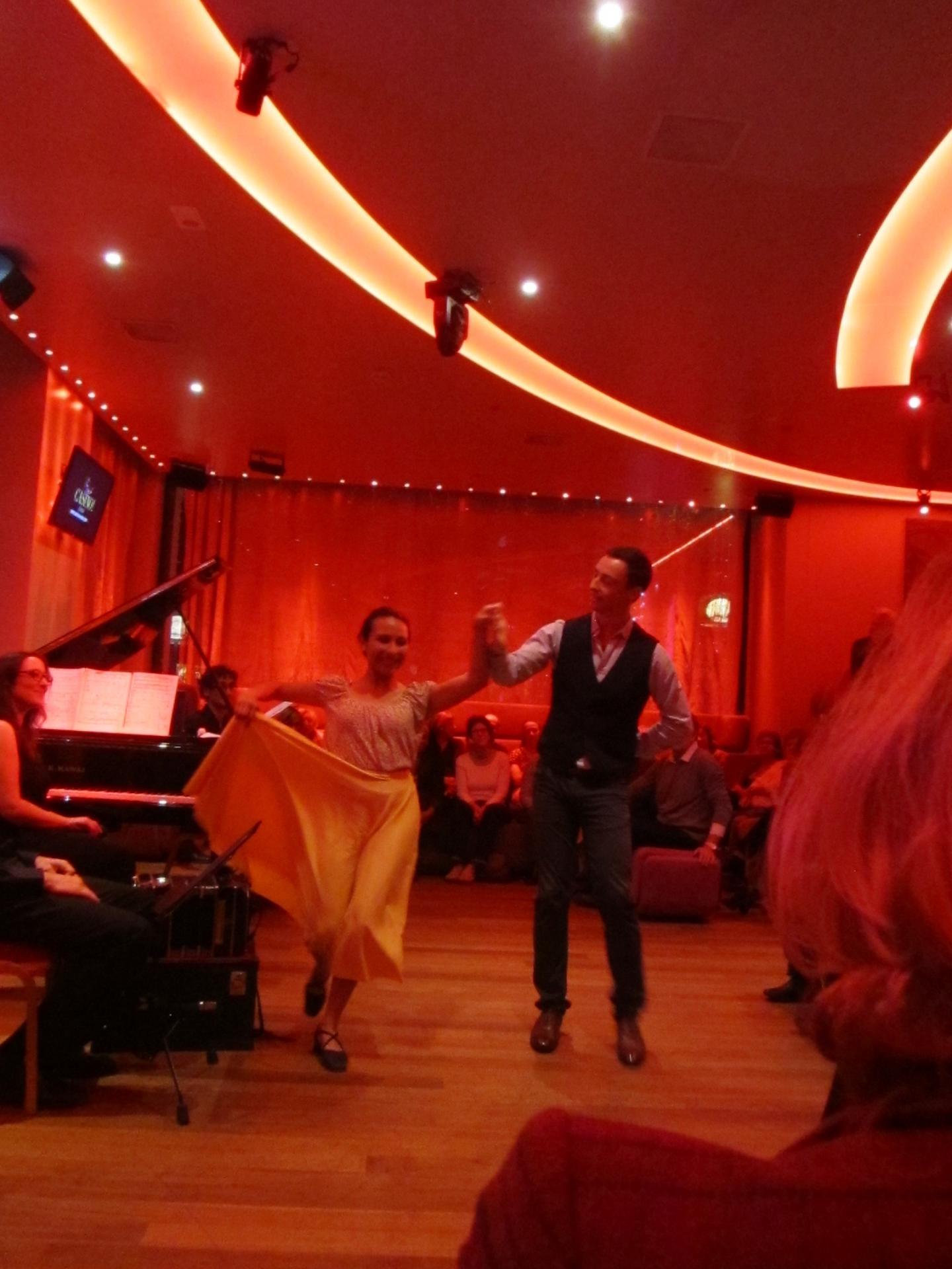 Ticiana Brandan (danseuse), Johannes Quintens (danseur)