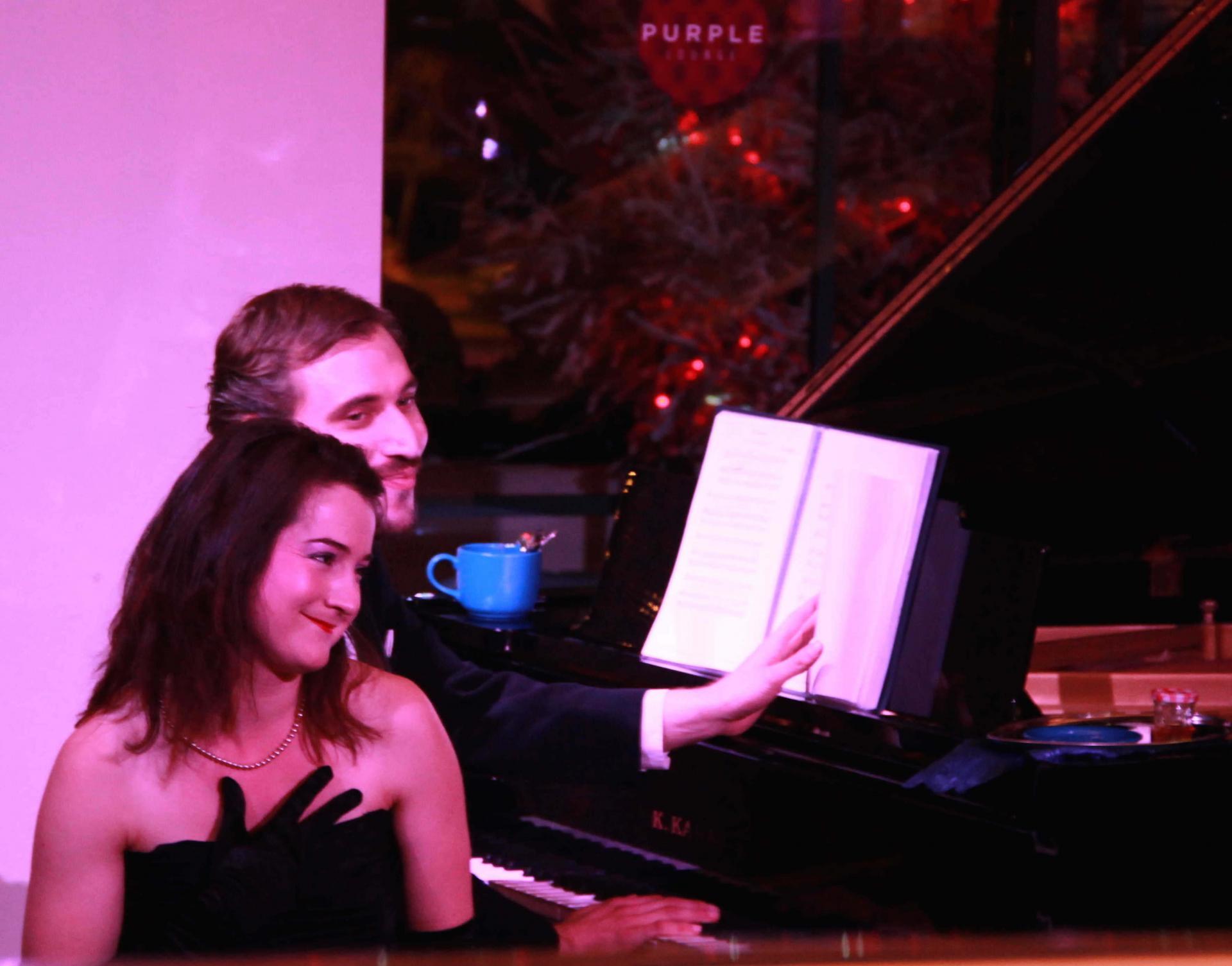 Stéphanie Mahue (mezzo-soprano), Eric Ramin (pianiste)