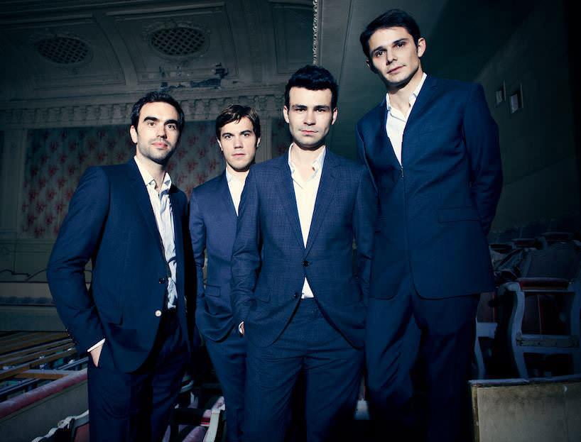 Le quatuor modigliani salon demilie terres musicales 1