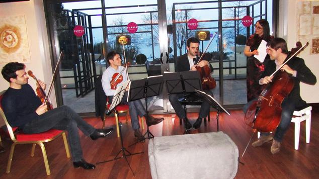 Les Salons d'Emilie, Le Quatuor Modigliani