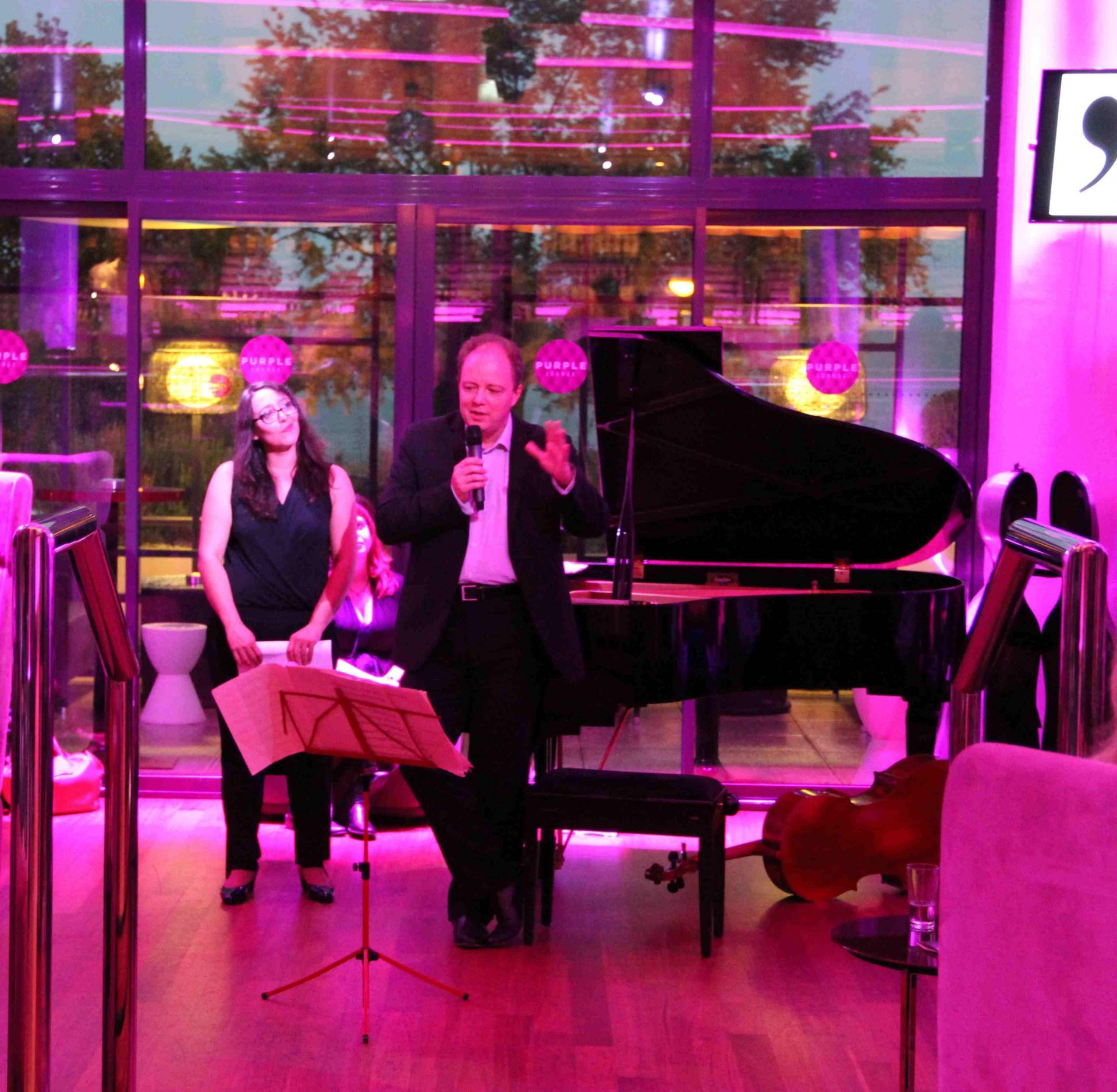 Les Salons d'Emilie, Nicolas Chalvin, Chef d'Orchestre des Pays de Savoie