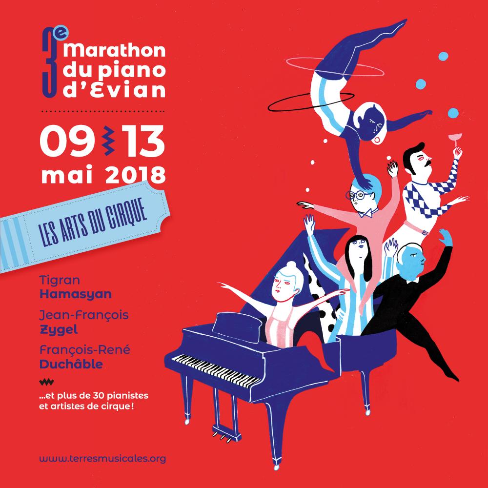 Marathon du piano d'Evian 2018