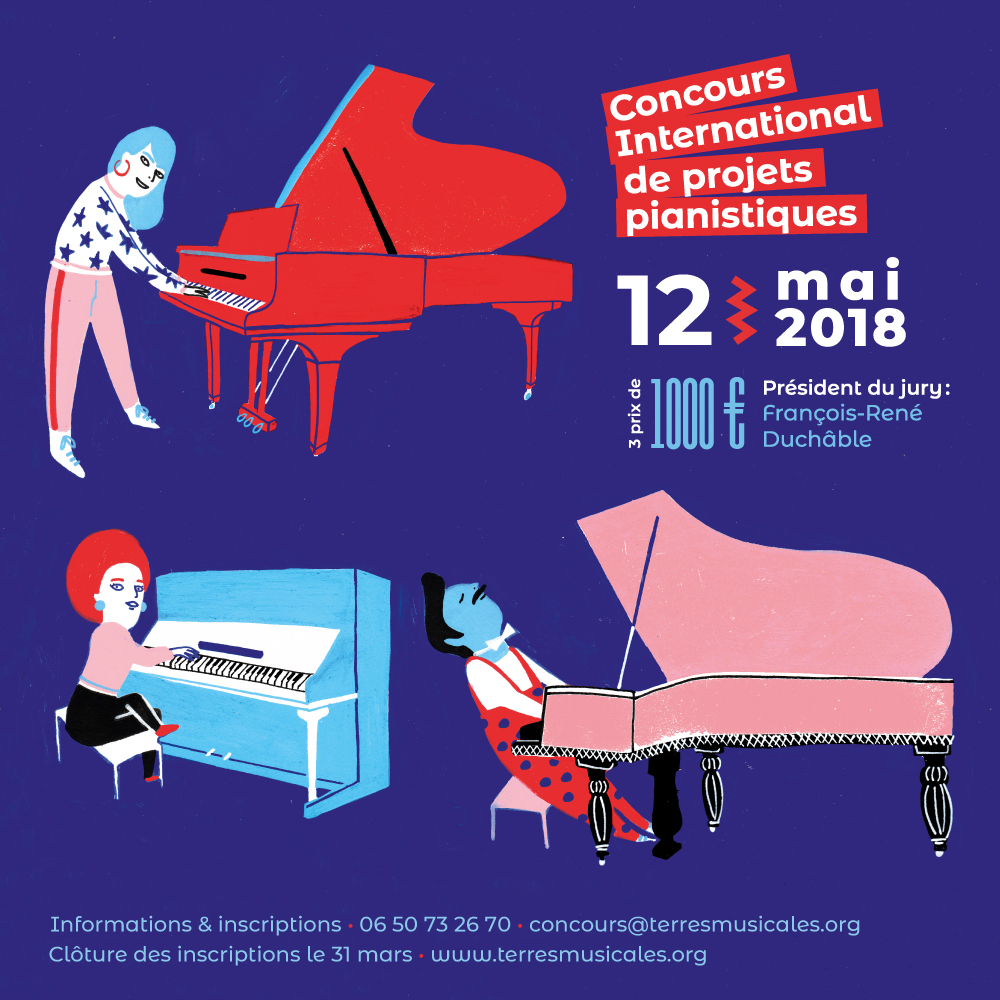 2ème concours de projets pianistiques 2018