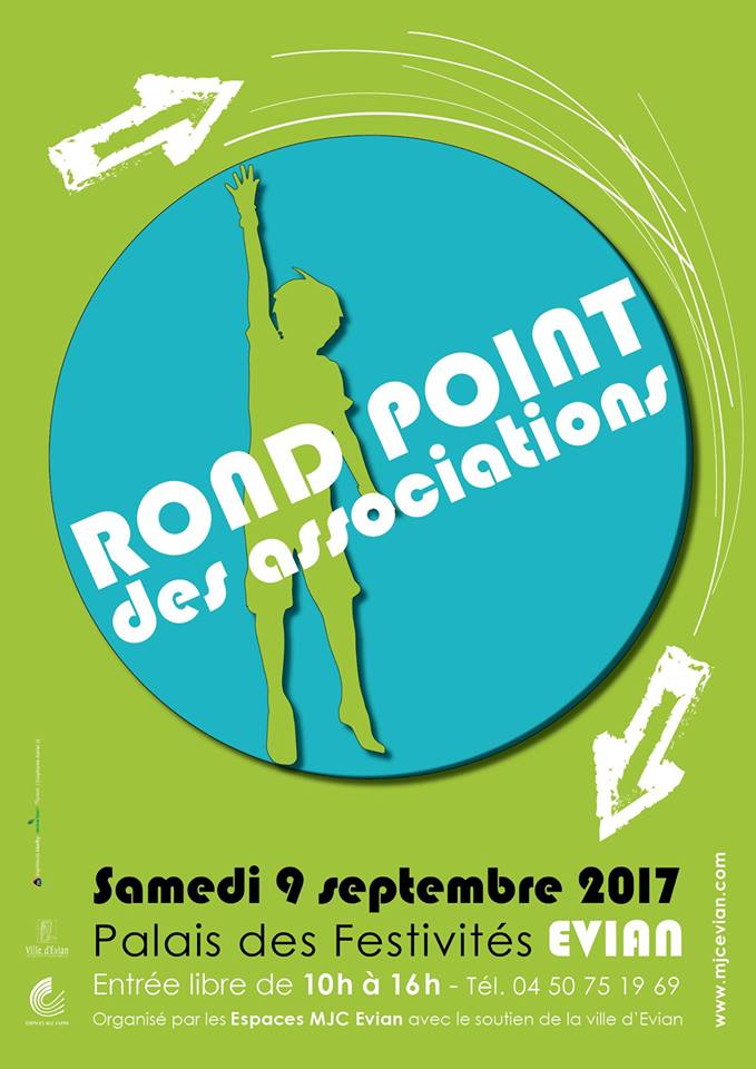 Rond point des associations evian