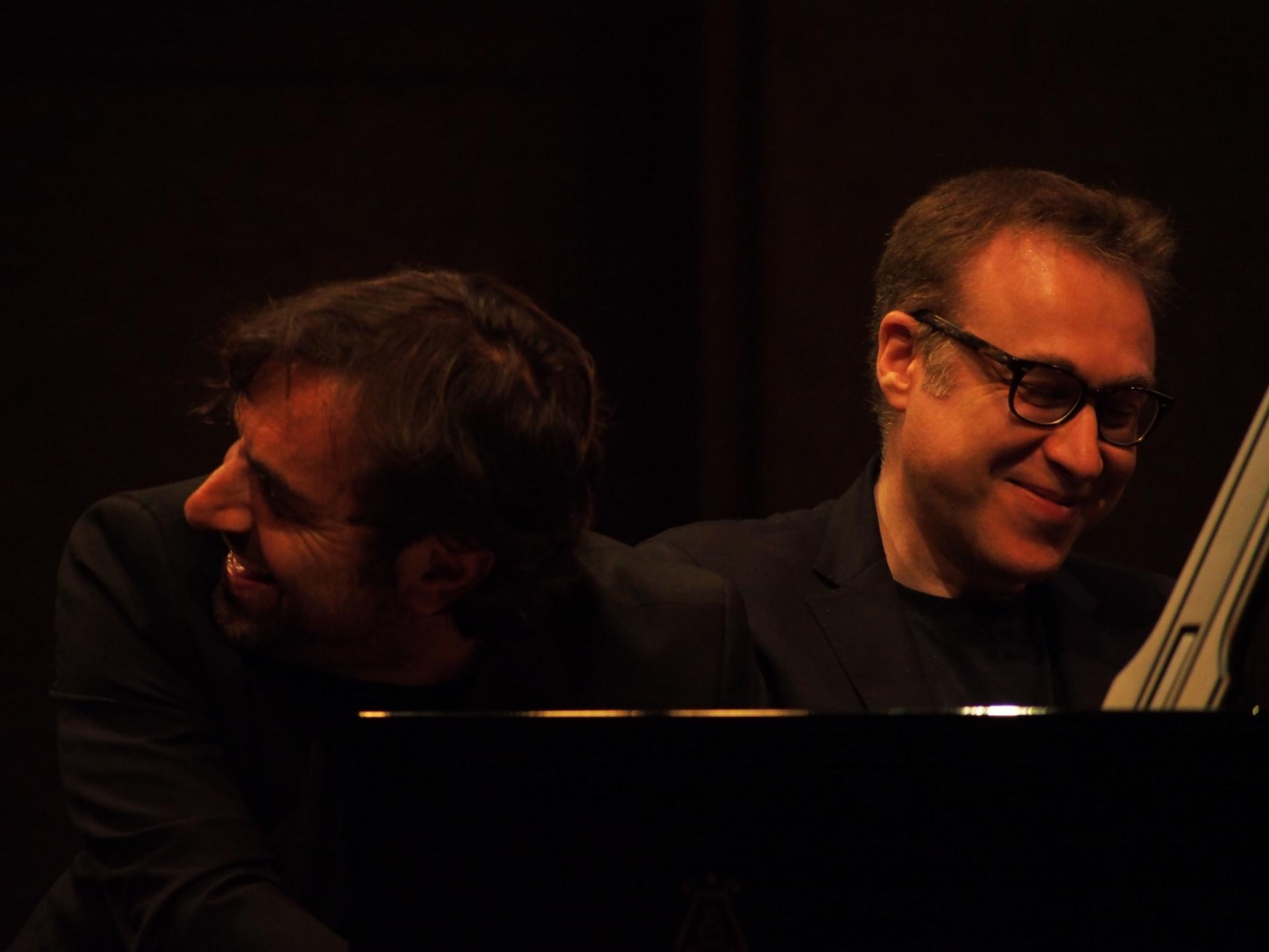 Jean-François Zygel et André Manoukian