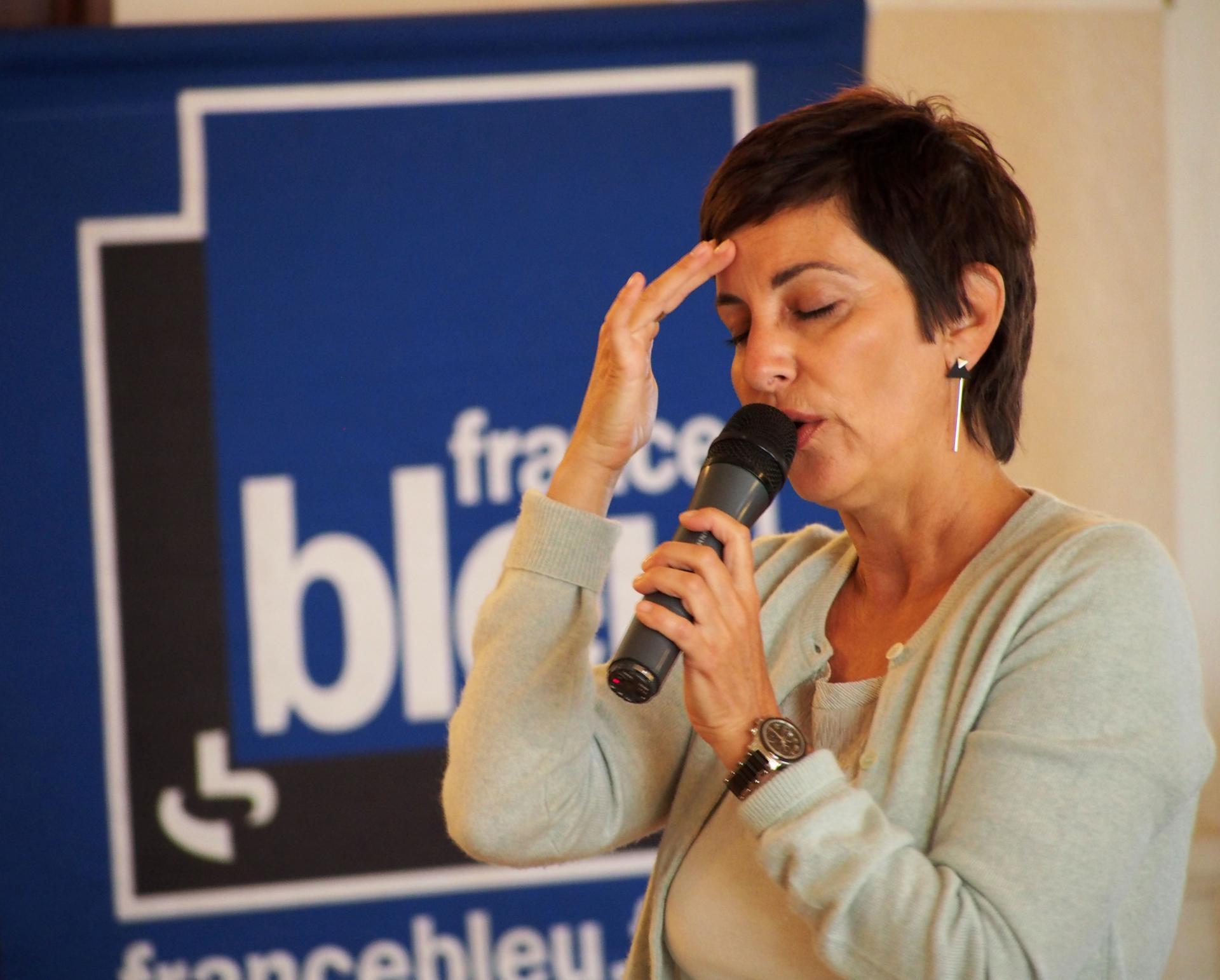Candy Ligonnière, coach mentale, conférence sur le trac du musicien