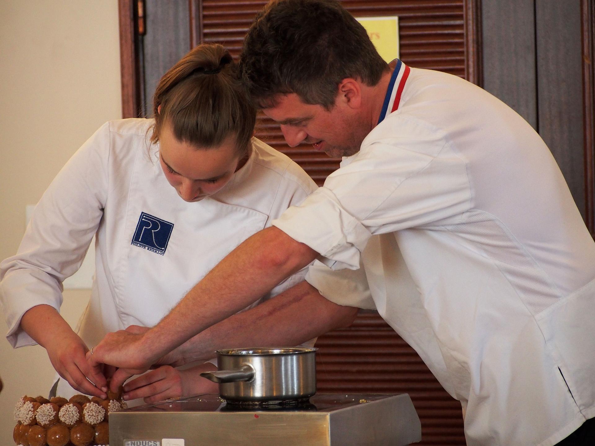 Philippe Rigollot, Meilleur Ouvrier de France et champion du Monde de pâtisserie