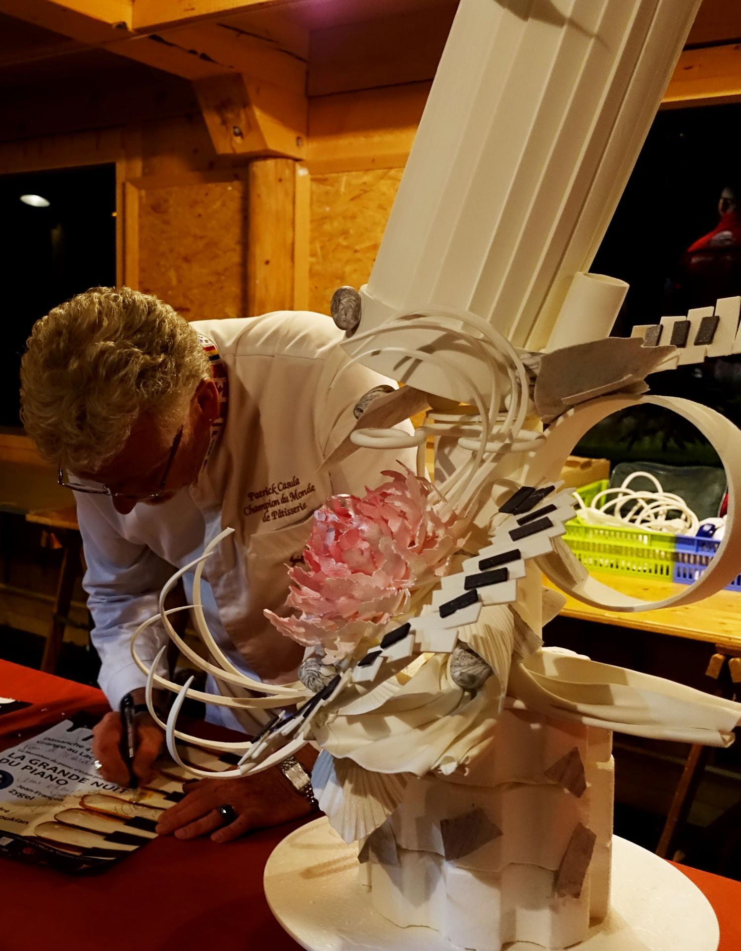 """Sculpture Marathon du piano"", Patrick Casula"