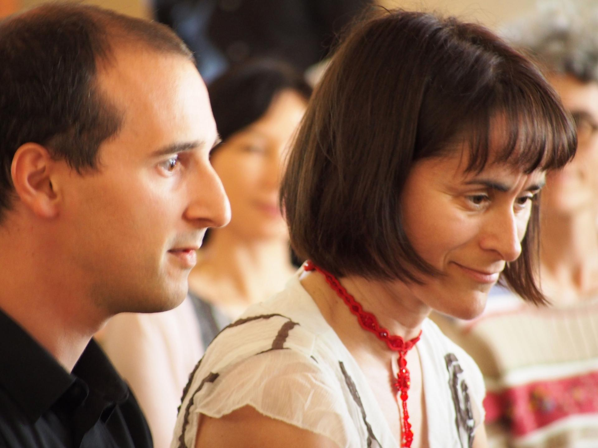 Barbara Morel et Nicolas Martin-Vizcaino